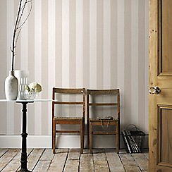 Superfresco Easy - Champagne Sparkle Stripe Paste The Wall Wallpaper