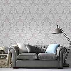 Superfresco Easy - Lilac venetian damask wallpaper