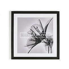 Graham & Brown - Grey Make It Happen Quote Floral Framed Print