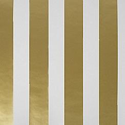 Superfresco Easy - Gold Stripe Wallpaper