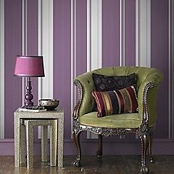 Superfresco Easy - Purple Gradient Stripe Wallpaper