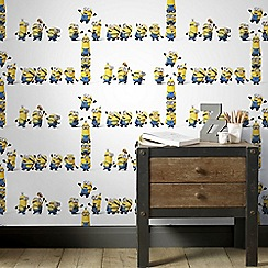 Superfresco Easy - Yellow Universal Studies Minions Kids Wallpaper