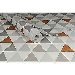 Superfresco Easy - Copper Tarek Wallpaper