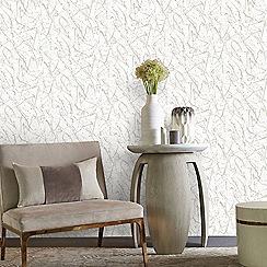 Kelly Hoppen - Gold 'Splat' Designer Wallpaper
