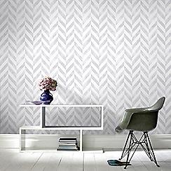 Superfresco Easy - Silver Italie Wallpaper