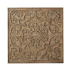 Graham & Brown - Neutral bazaar dark wood panel