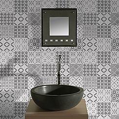 Contour - Grey Porches Wallpaper