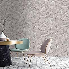 Contour - Natural Travertino Wallpaper