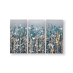 Graham & Brown - Wildflower meadow painted canvas