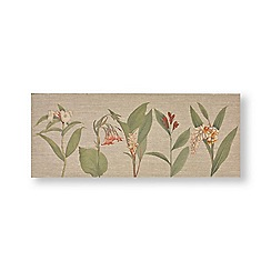 Graham & Brown - Botanical bliss painted canvas