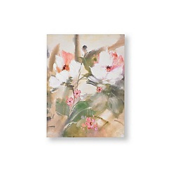 Graham & Brown - Tropic blooms painted canvas