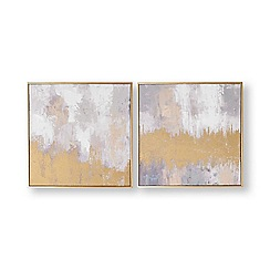 Graham & Brown - Laguna mist hand painted canvas