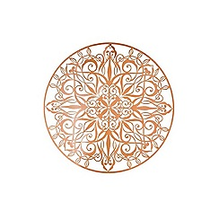 Graham & Brown - Copper luxe metal art