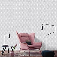 Superfresco Easy - Silver optical wallpaper