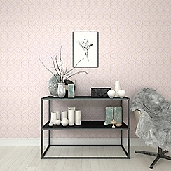 Superfresco Easy - Rose gold laos trial floral wallpaper