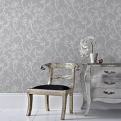 Superfresco Easy - Greylaos trial floral wallpaper