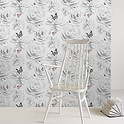 Superfresco Easy - Multi origami florals wallpaper