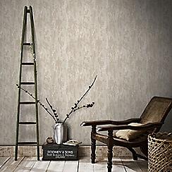Boutique - Beige boutique industrial texture wallpaper