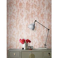 Boutique - Copper boutique industrial texture wallpaper
