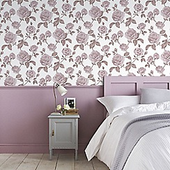 Boutique - Pink boutique countess floral wallpaper