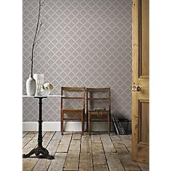 Boutique - Taupe boutique trifina geo wallpaper