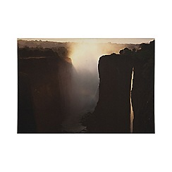 Art for the Home - Twilight peaks printed canvas