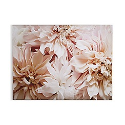 Art for the Home - Blushing blooms printed canvas
