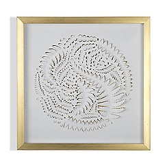 Graham & Brown - Golden  leaves framed wall art