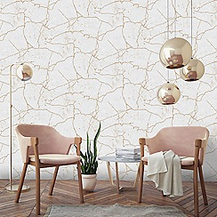 Superfresco Easy - Gold kintsugi wallpaper