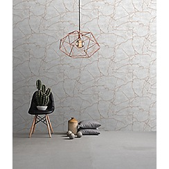 Superfresco Easy - Rose gold kintsugi wallpaper