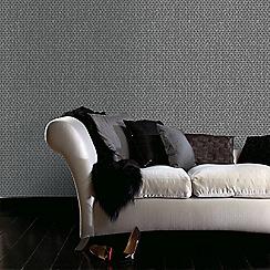 Superfresco Easy - Black optical wallpaper