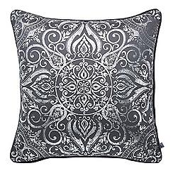 Graham & Brown - Souk silver cushion