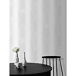 Superfresco Easy - Silver ombre glow silver stripe wallpaper