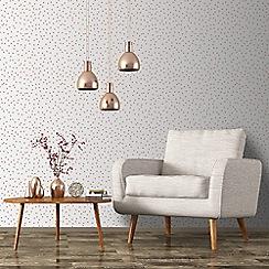 Superfresco Easy - Rose gold confetti wallpaper