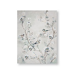 Art for the Home - Beautiful birds printed canvas