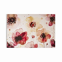 Art for the Home - Painterly blossoms printed canvas
