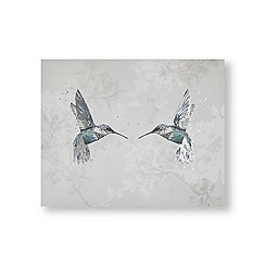 Art for the Home - Hummingbirds printed canvas