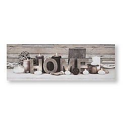 Art for the Home - Tranquil home led canvas