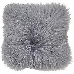 Graham & Brown - Cosy grey mongolian cushion