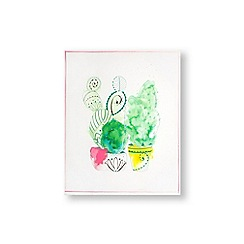 Art for the Home - Cactus craze printed canvas