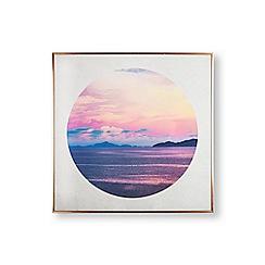 Art for the Home - Paradise skies framed wall art