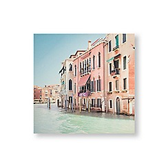 Art for the Home - Venetian daydream printed canvas