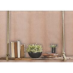 Sublime - Rose gold fur textured wallpaper