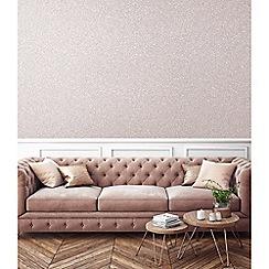 Superfresco Easy - Rose gold Pixie dust glitter plain wallpaper