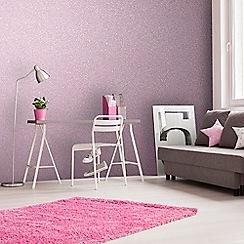Superfresco Easy - Pink Pixie dust glitter plain wallpaper