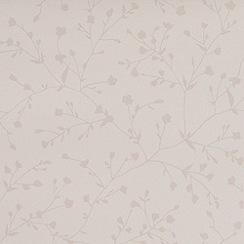 Superfresco - White Silhouette Wallpaper