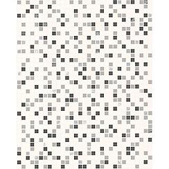 Contour - Black/White Checker Wallpaper