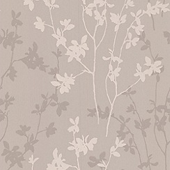 Superfresco - Taupe Nature Wallpaper