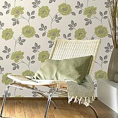 Superfresco - Moss Flavia Wallpaper