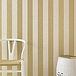 Superfresco - Beige & Gold Ariadne Wallpaper